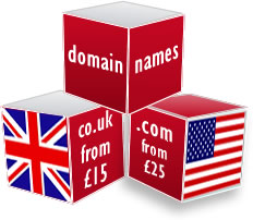 Domain Names from £15