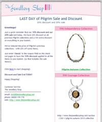 TheJewelleryShop.net - Standard Email