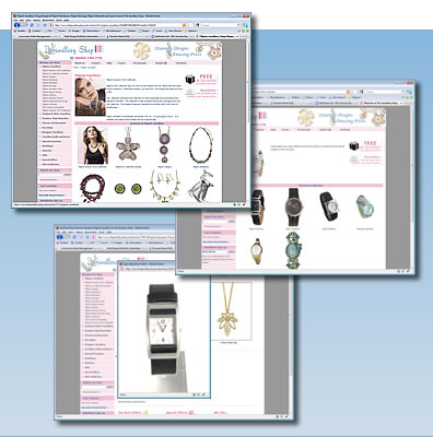 Featured Website - The Jewellery Shop